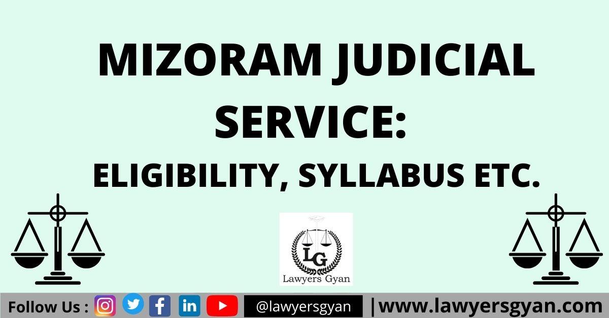 Mizoram Judicial Service