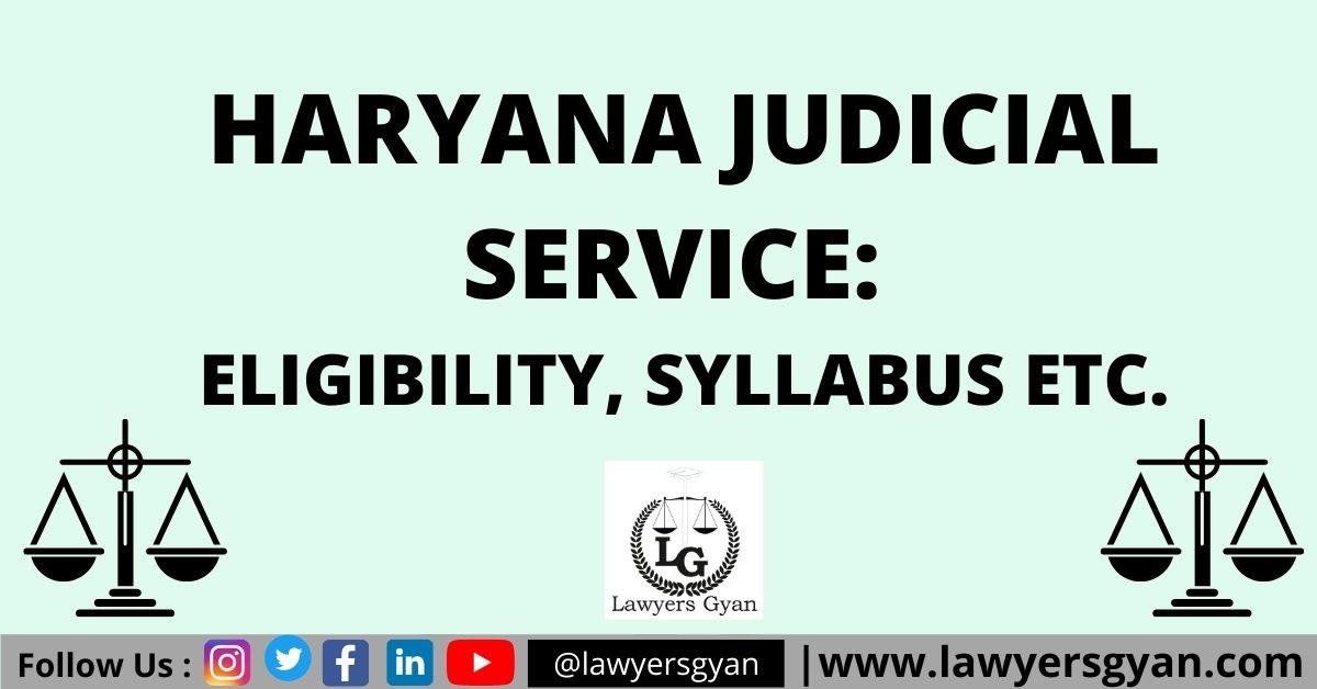 Haryana Judicial Service