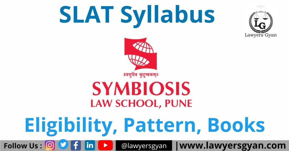 SLAT Syllabus