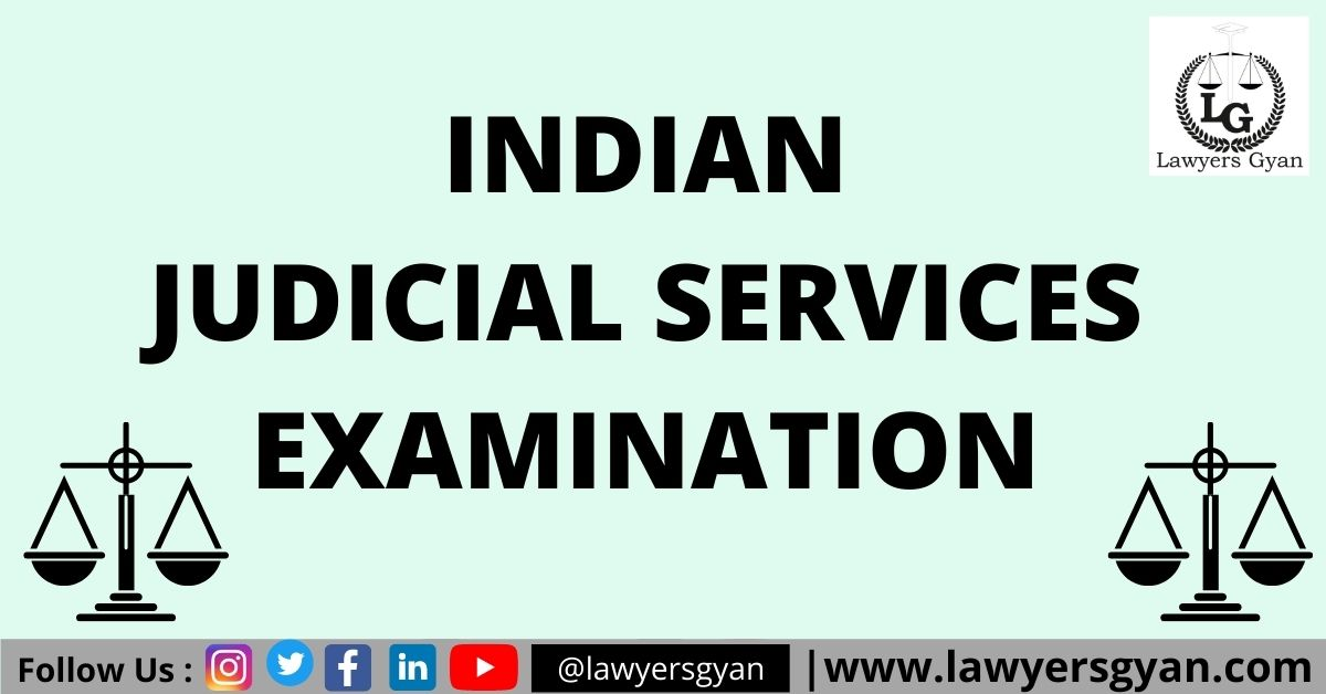 Judicial Services Examination
