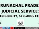 Arunachal Pradesh Judicial Service