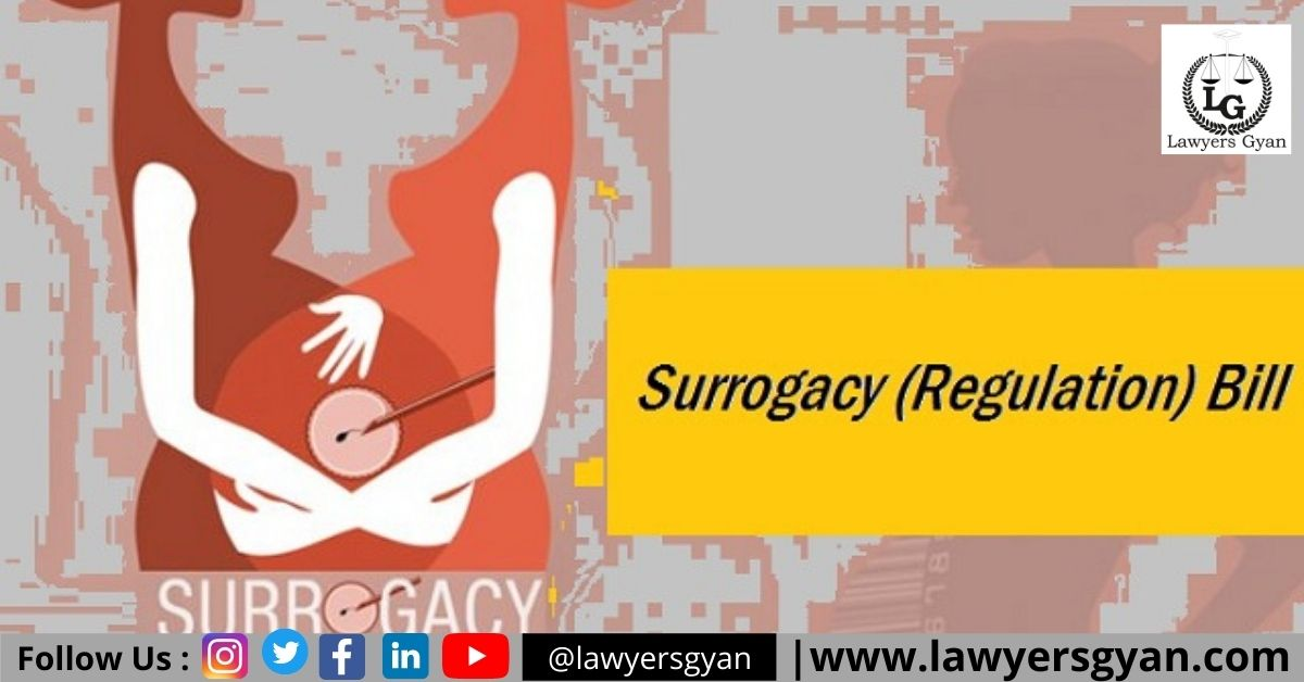 Surrogacy Regulation Bill