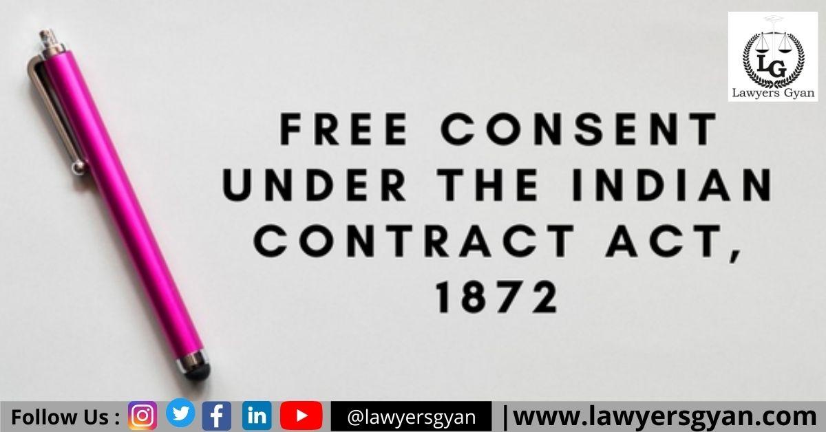 FREE CONSENT