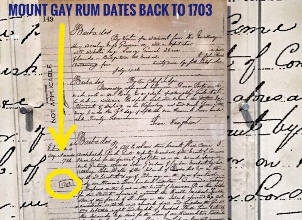 Lawyers Make History: Sir John Gay Alleyne, a barrister, had a hand in developing what became Mount Gay rum distillery. Photo credit: M. Ciavardini.