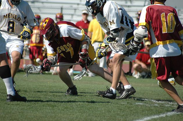 Menlo-Atherton Boys Lacrosse vs Menlo 2009