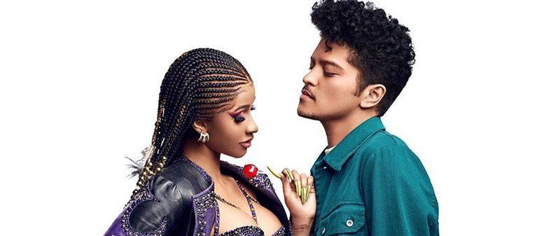 Escucha lo nuevo de Cardi B y Bruno Mars