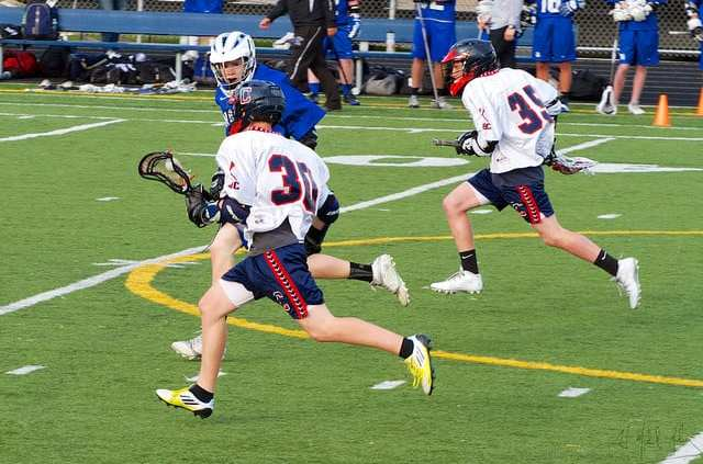 5 on 4 slow break lacrosse play man up numbers advantage transition