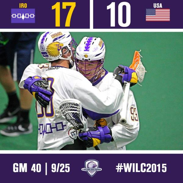 iroquois usa world indoor lacrosse championships semifinal score