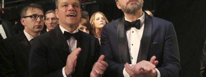 De nuevo juntos Matt Damon y Benn Affleck