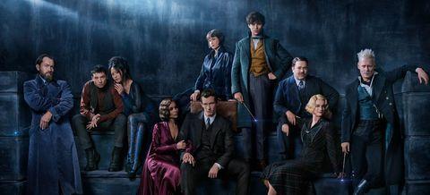 J.K Rowling reescribió el guion de 'Animales Fantásticos 3' para su entrega en 2021