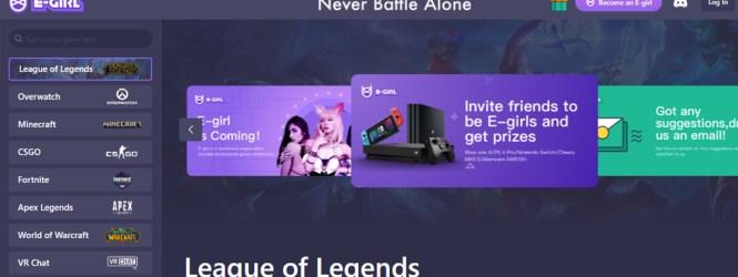 """Egirl.gg la plataforma donde las """"anti-influencers"""" de Tik-Tok ganan dinero con videojuegos"""