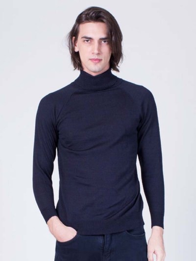 Roll Neck Sweater Men