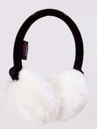 White Fluffy Ear Muffs