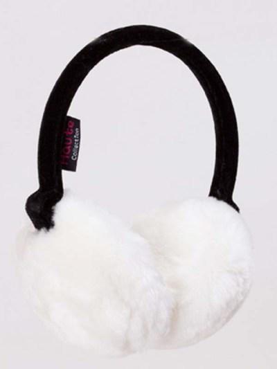 White Fluffy Ear Muffs