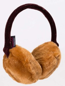 Brown Fluffy Ear Muffs