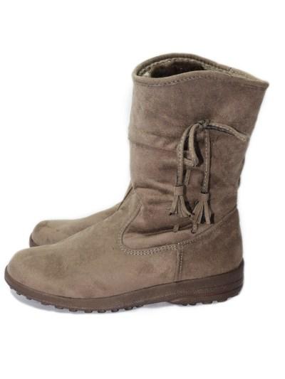 Women Winter Shoes Fur Brown