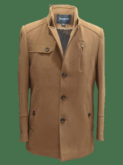 Mens Jacket Vintage Brown