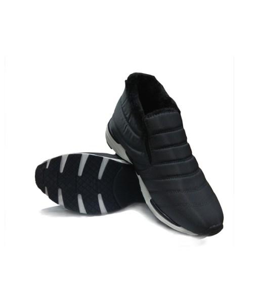 Men Shoes Winter Slip on-089D with full fur inside. very comfort and stylish. waterproof hangat dan nyaman untuk musim dingin, Aman dan anti selip Material.
