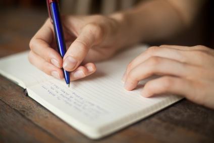 Schreiben ist eine der ältesten Methoden der Selbsterkenntnis