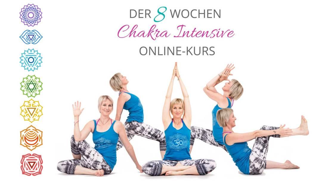 8 Wochen CHAKRA INTENSIVE Online-Kurs