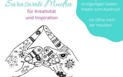 Saraswati-Mudra: Inspiration und Kreativität