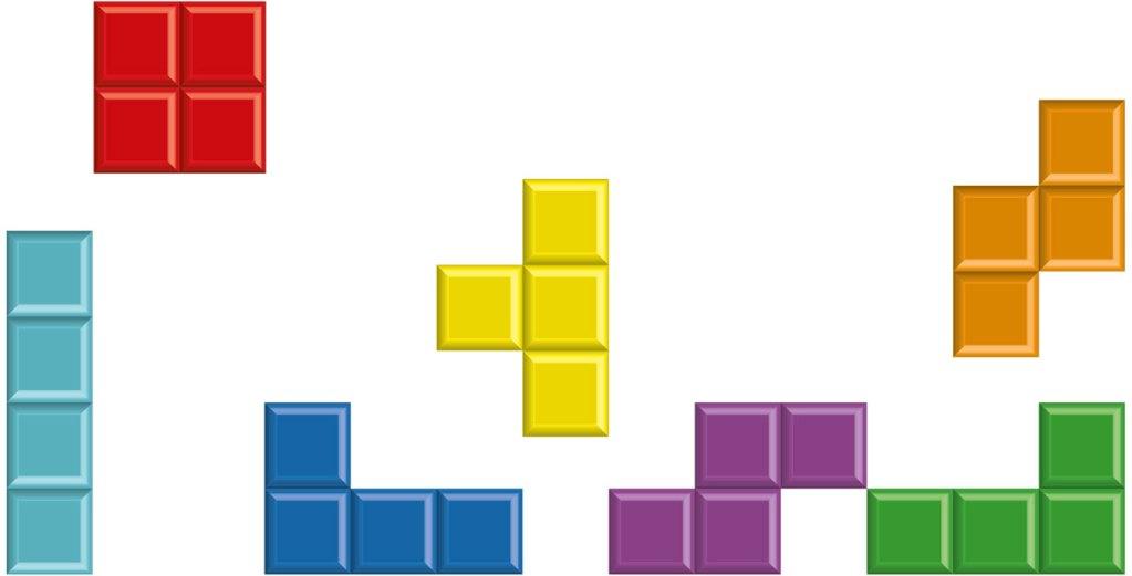Das Leben ist wie Tetris - je höher dein Level, desto schneller fliegen dir die Steine um die Ohren