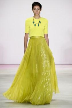 Lela Rose Ready-To-Wear Spring/Summer 2016 (Photo courtesy: Vogue.co.uk).