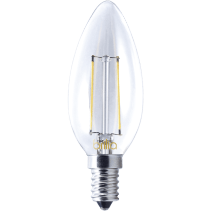 437032 - Vela Lisa Filamento 2W - 2700K - E14 - 127v - Brilia - LED