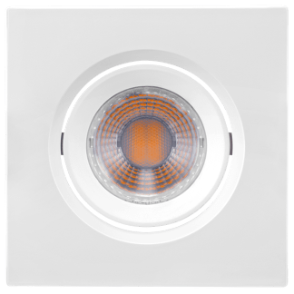 Luminária LED Downlight Orientável MR11 - 3W - 2700K/6500k - Brilia