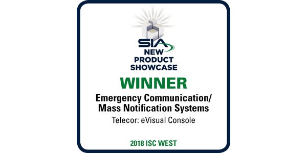 Telecor Awarded Best New Product in Emergency Communication Systems