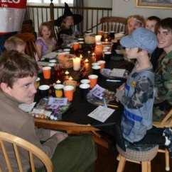 Halloween Mystery Feast