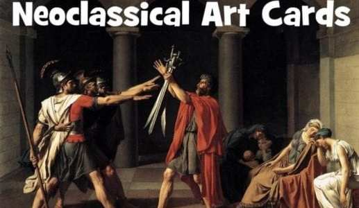 Neoclassical Art Cards