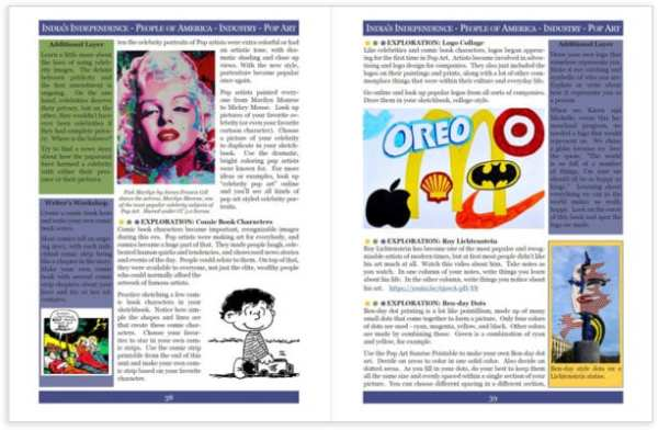 Layers of Learning Unit 4-13 sample pages
