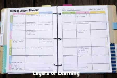 weekly lesson planner   Gotta yotti co weekly lesson planner