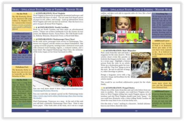Layers of Learning Unit 4-14 sample pages