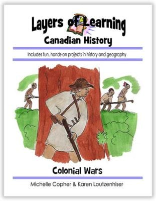 Colonial Wars of North America unit from Layers of Learning