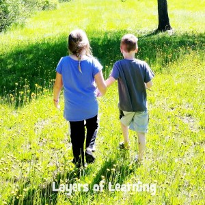 Go out and explore!  Learning should be full of passionate curiosity in small and simple ways.