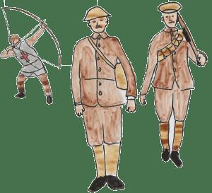World War One Legend of the Battle of Mons