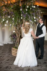 September wedding in Las Vegas at Red Rock Country Club by Layers of Lovely Floral Design, Scheme Events, Meg Ruth Photography, and She Paperie.