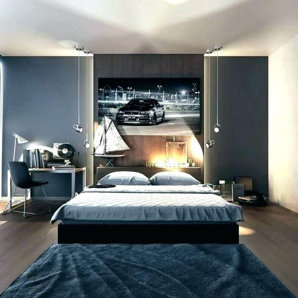 young male bedroom decorating ideas