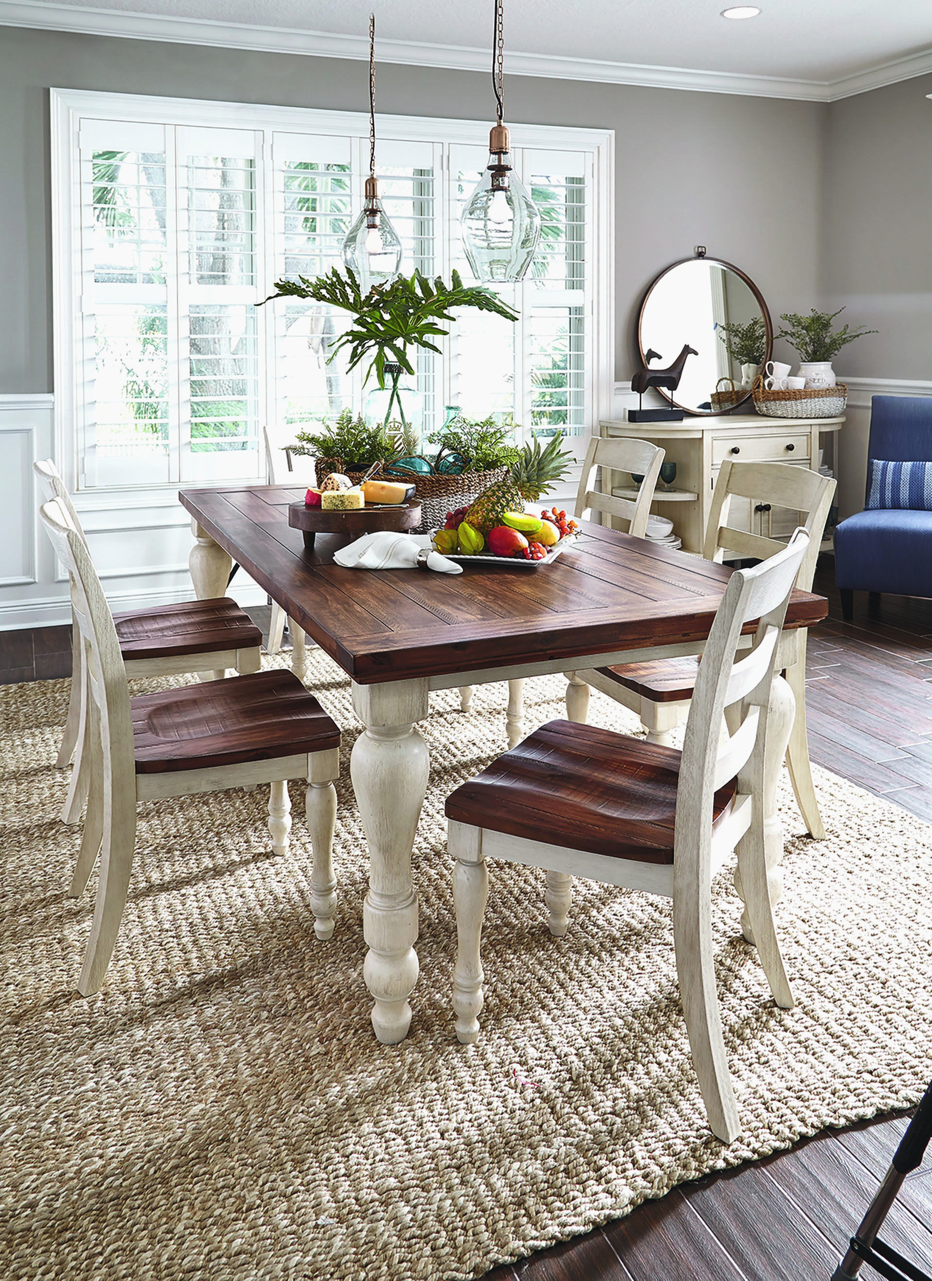 Rustic Farmhouse Dining Table Modern Rustic Dining Room Table Sets Layjao