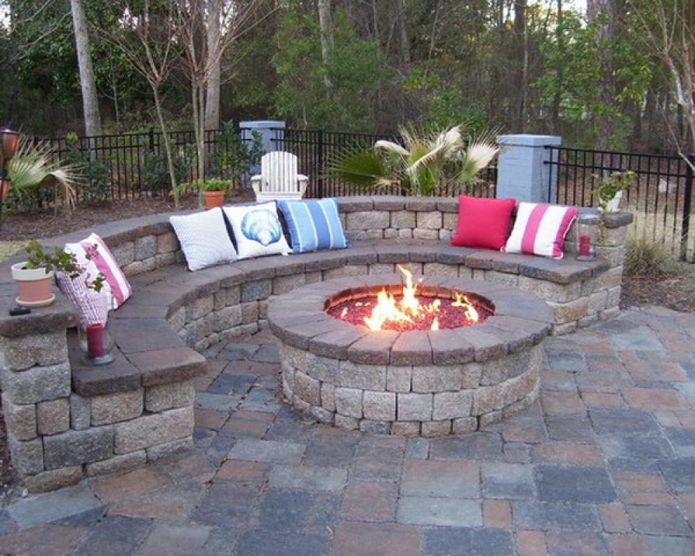 fire pit for small patio fireplace