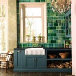 Kitchendark Green Tile Kitchen Backsplash Ideas With White Cabinets Layjao