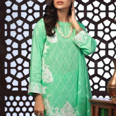 Salitex Jacquard Embroidered Unstitched 3 Piece Suit ST19-301