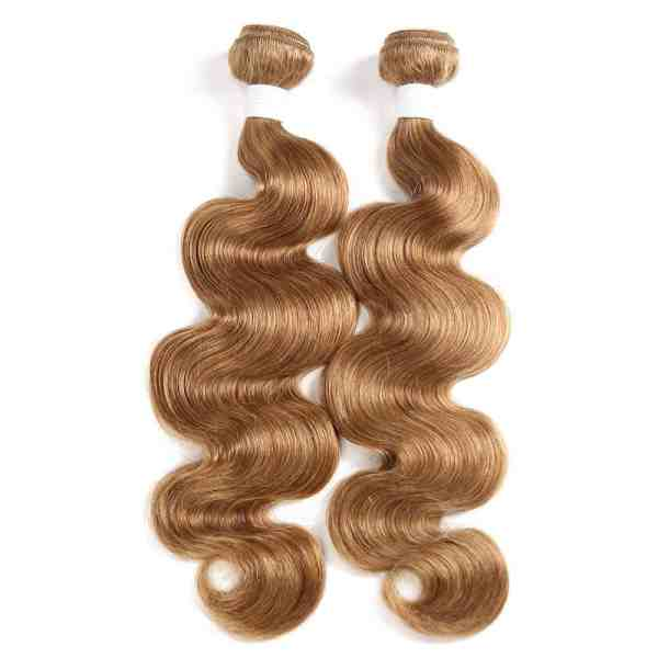 "Vietnamese and Cambodian Blond wavy machine weft hair 26"""