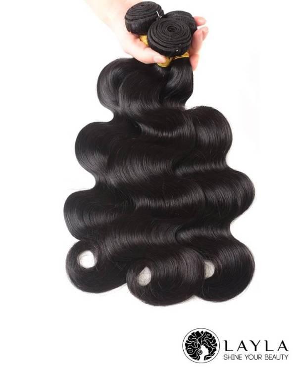 Vietnam hair single drawn wavy hair in natural color