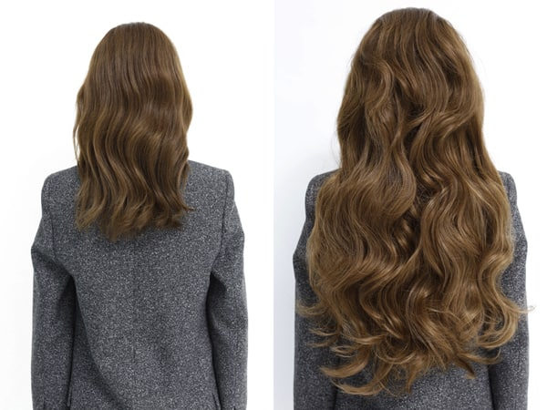 Question about how to clip-in hair extensions