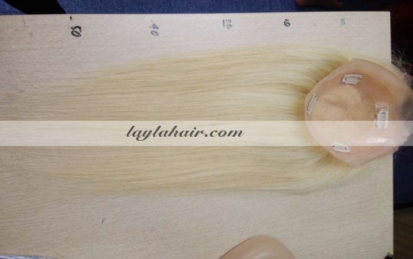 Blond-Clip-In-Hair-Topper-Extensions-human-hair-laylahair