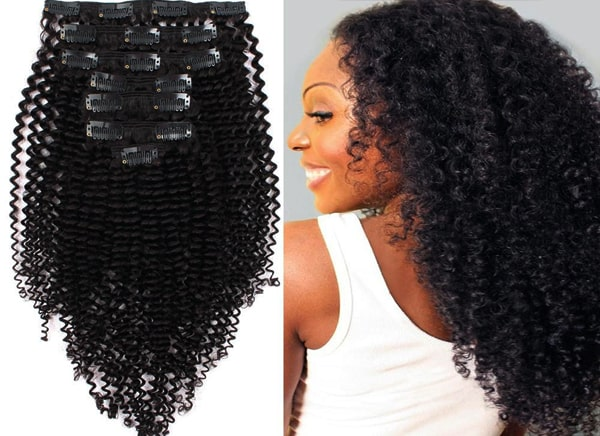 Kinky-clip-in-hair-extensions