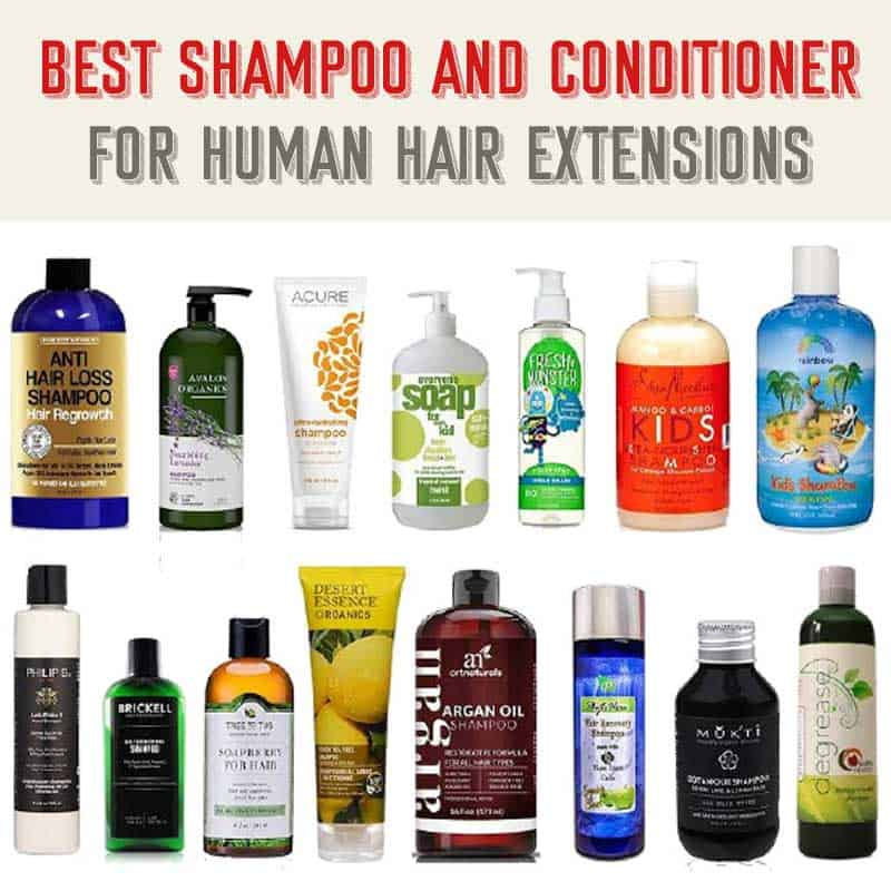 Top 10+ Best Shampoo And Conditioner For Human Hair Extensions | 2019 Updated